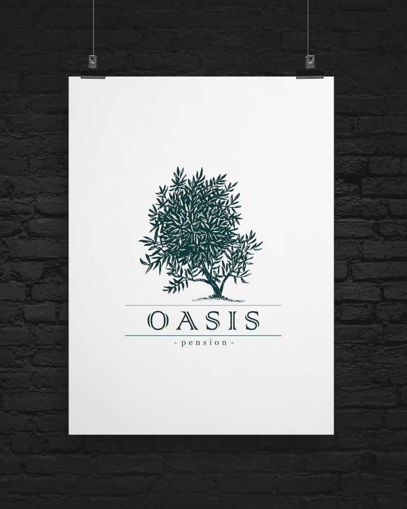 Розробка лого Оазис