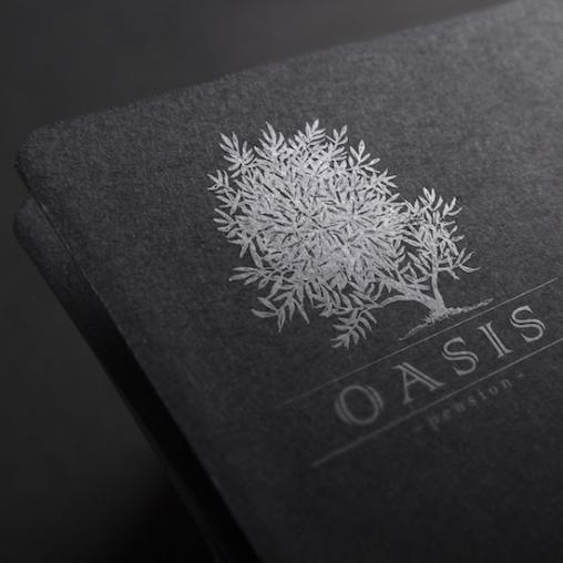 Разработка логотипа ОАЗИС