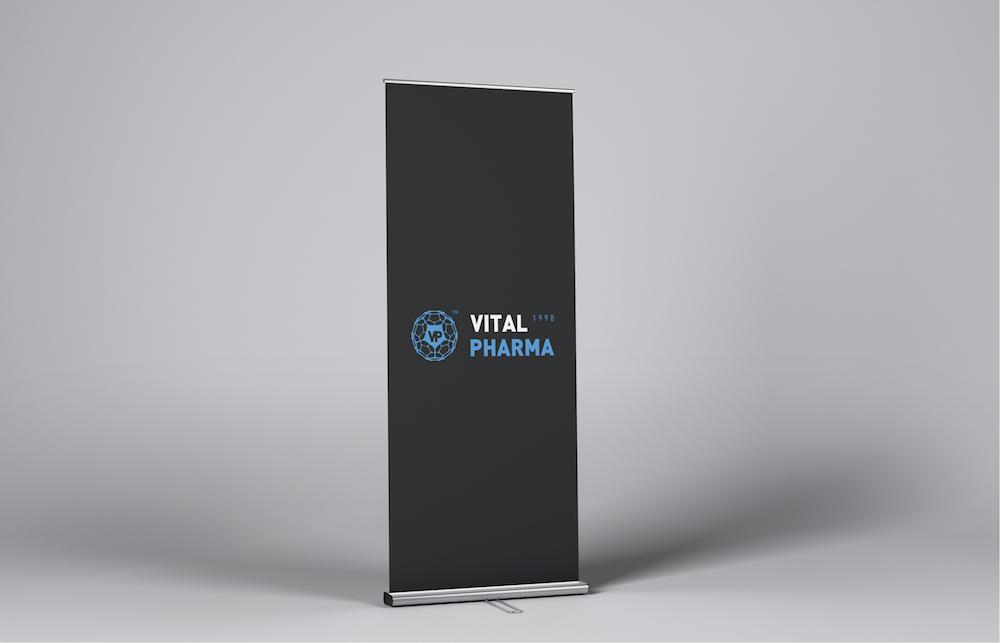 Дизайн лого Vital Pharma