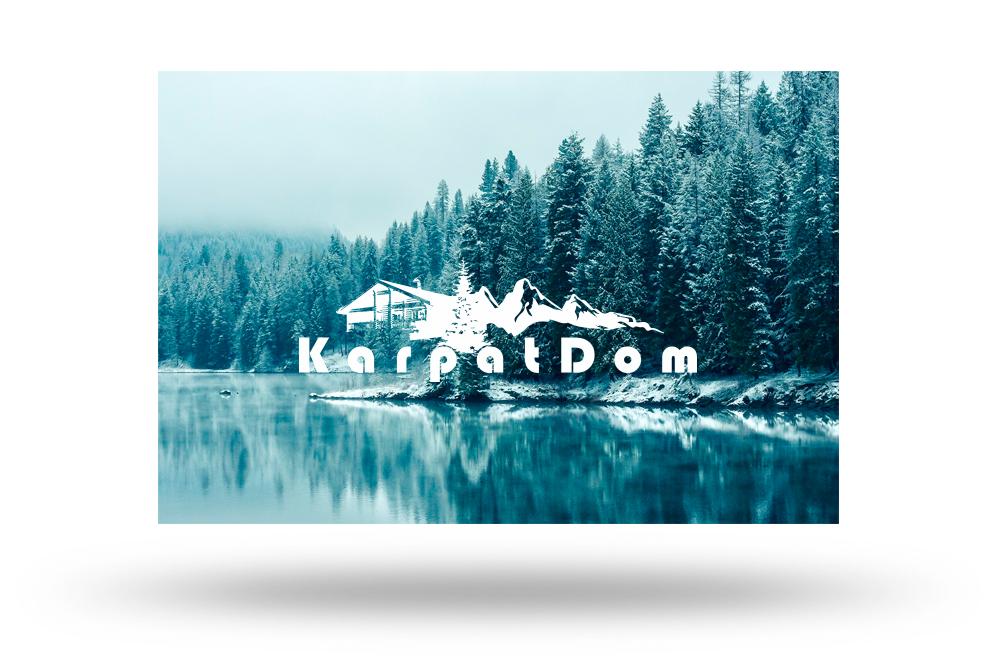 Розробка лого КарпатДОМ