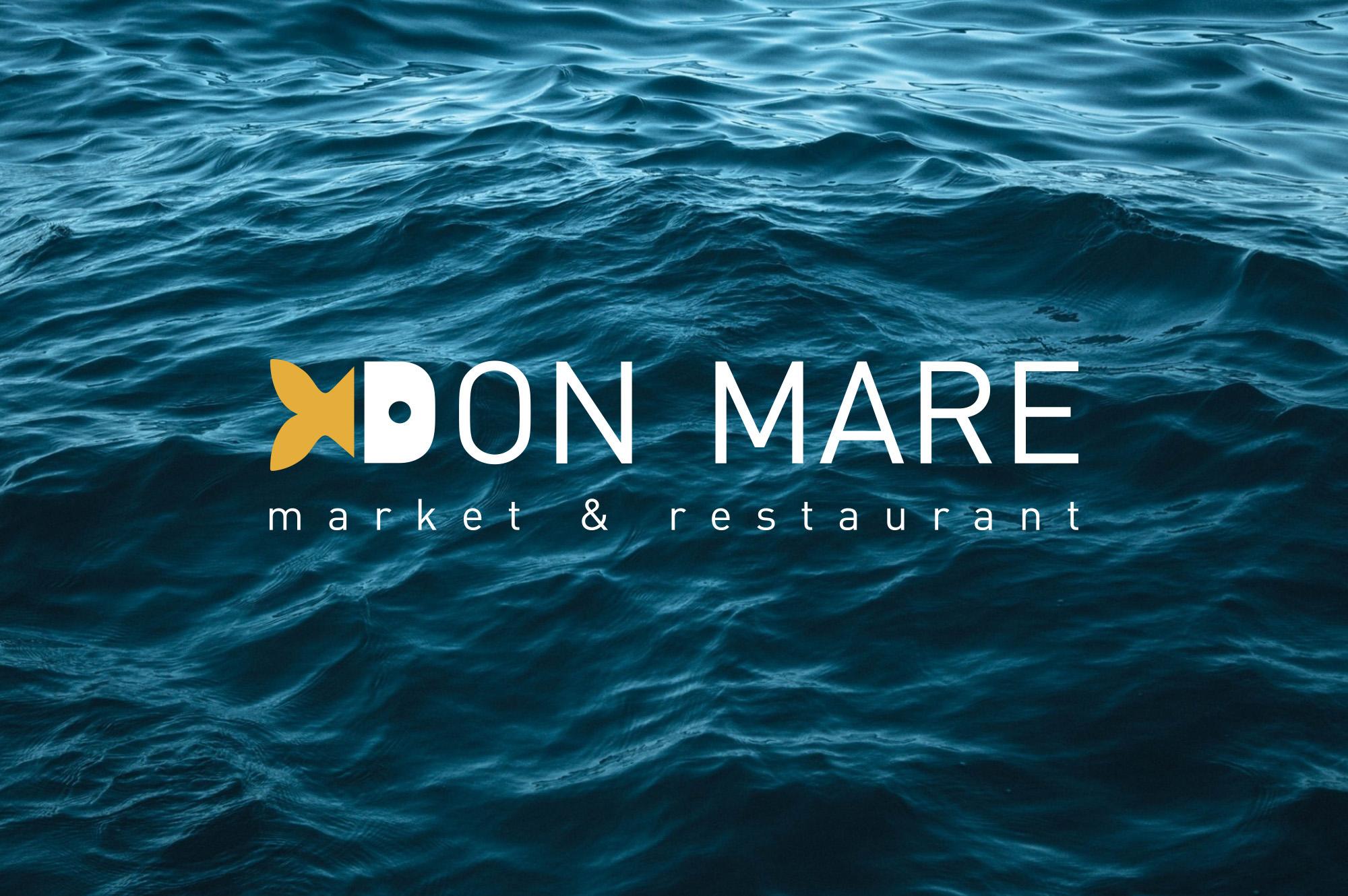 Разработка лого Don Mare