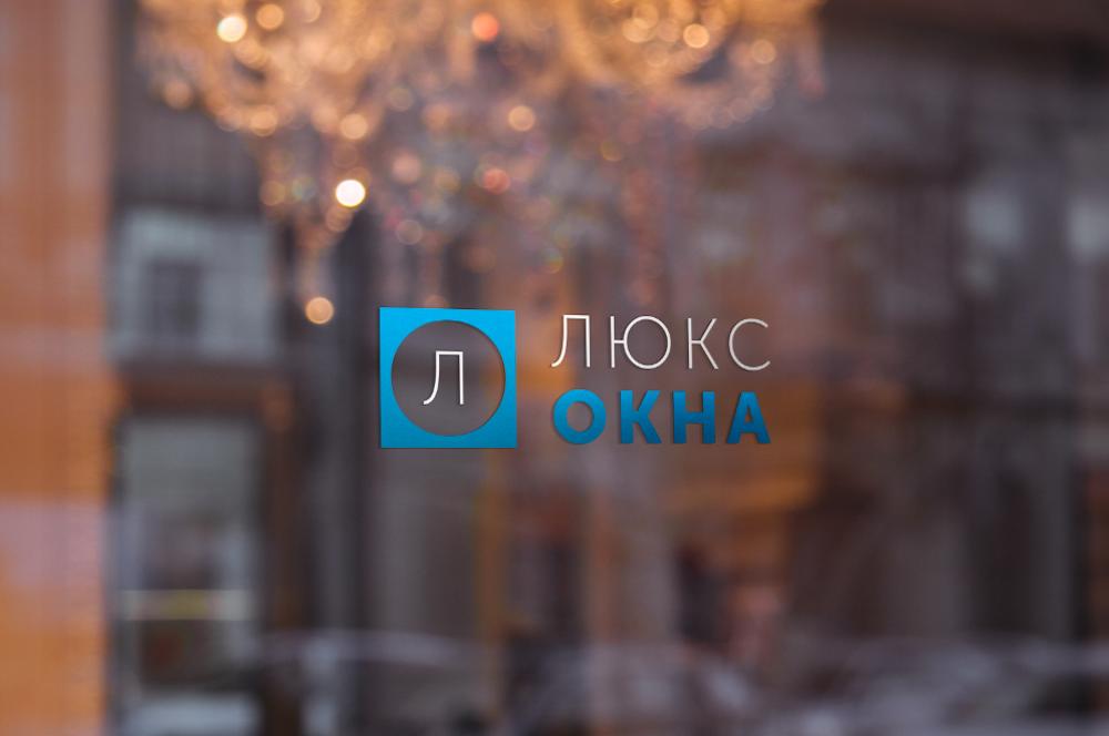 Разработка логотипа LuksOkna