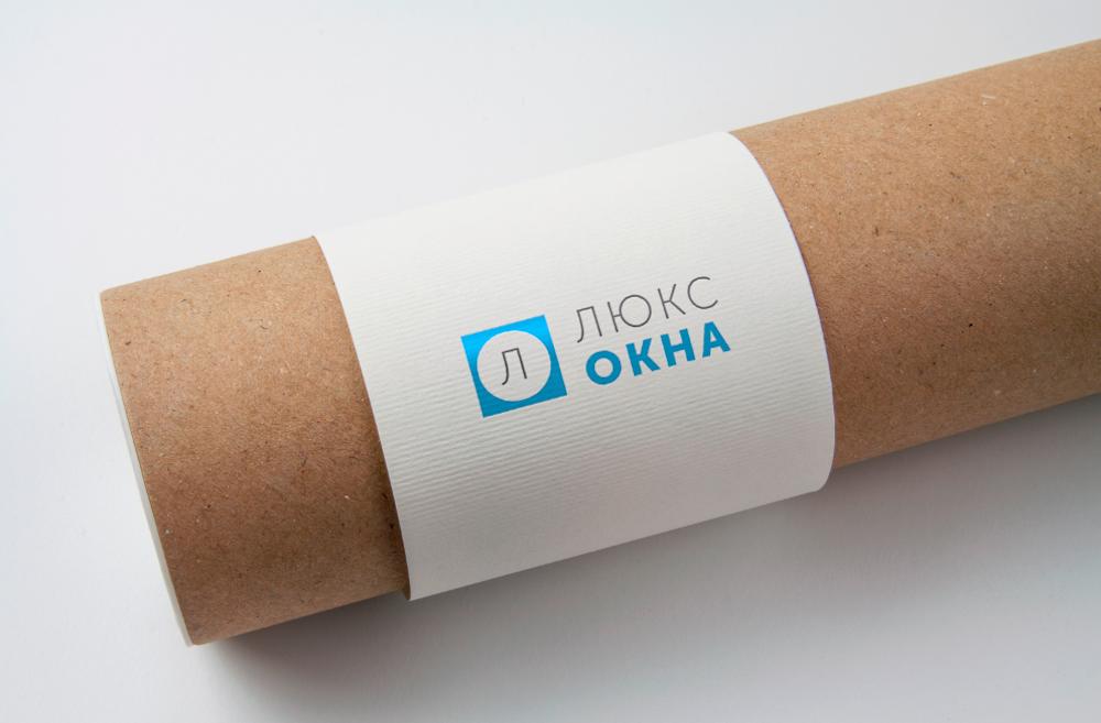 Розробка логотипу ЛюксОкна