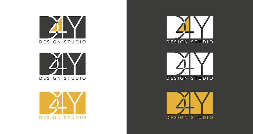 Створення логотипу D4Y