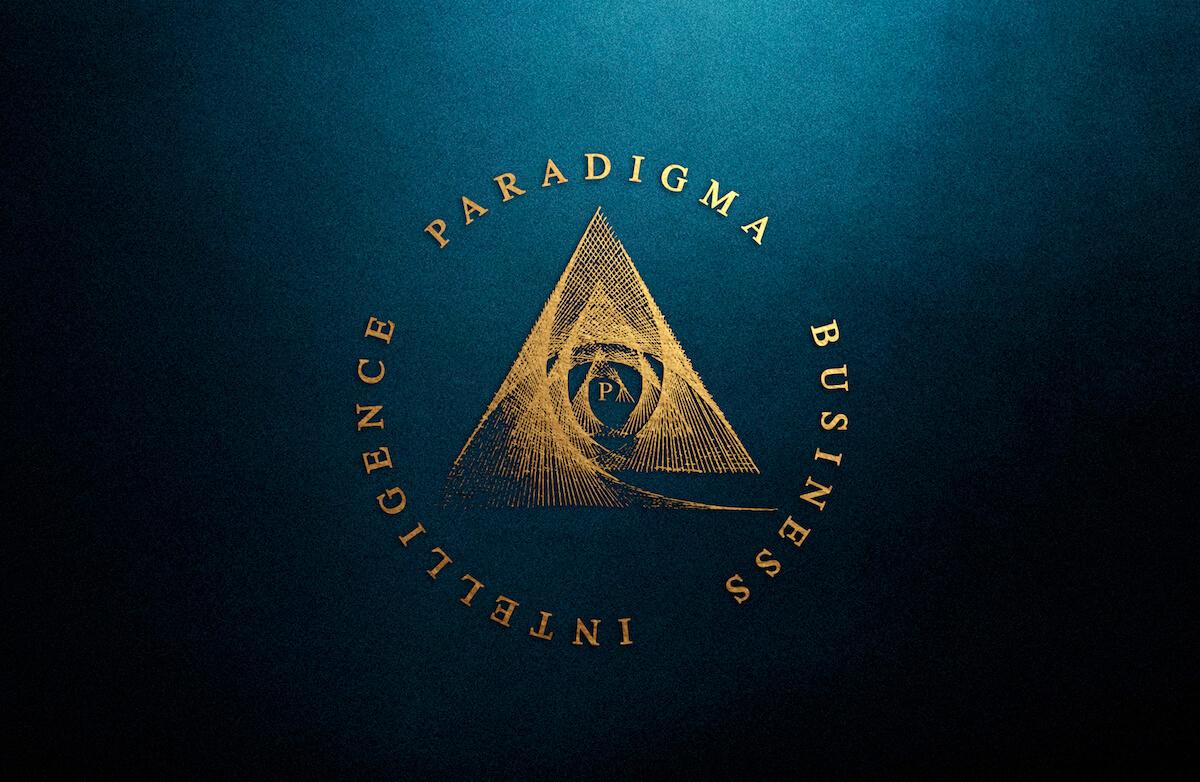 Створення логотипу Парадігма