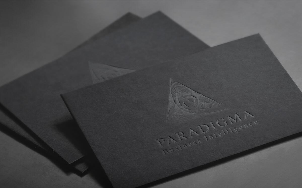 Розробка логотипу Парадігма