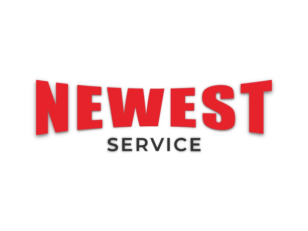 Розробка логотипу та сайта Newest service
