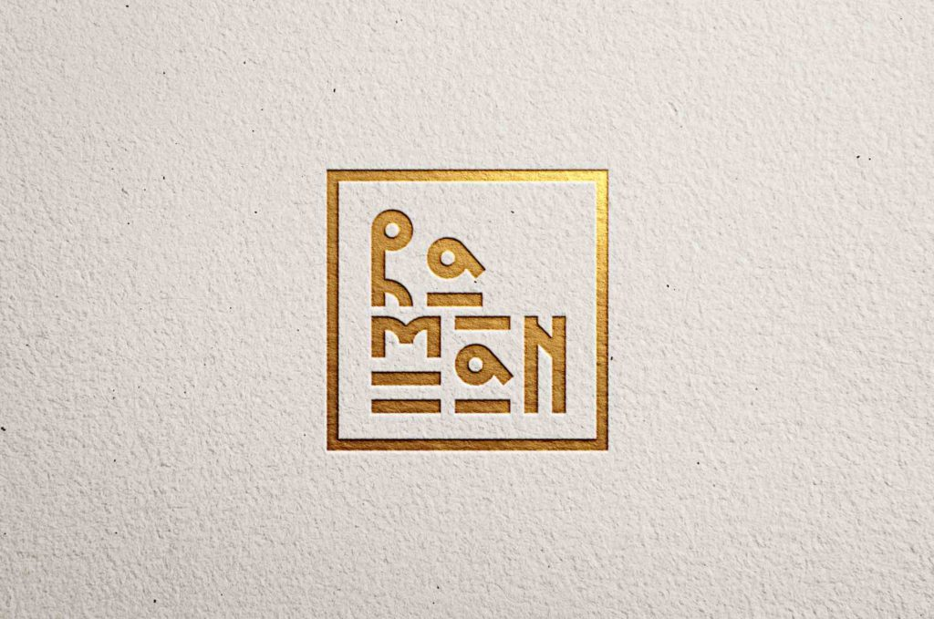Разработка логотипа для RAMAN