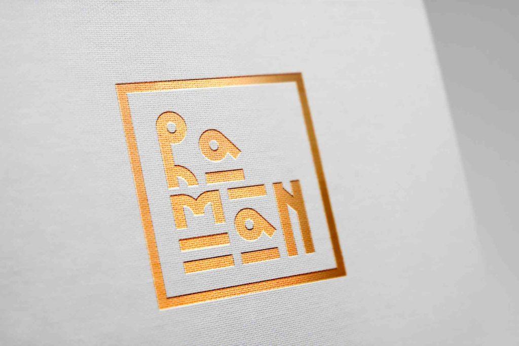 Logo Design for RAMAN