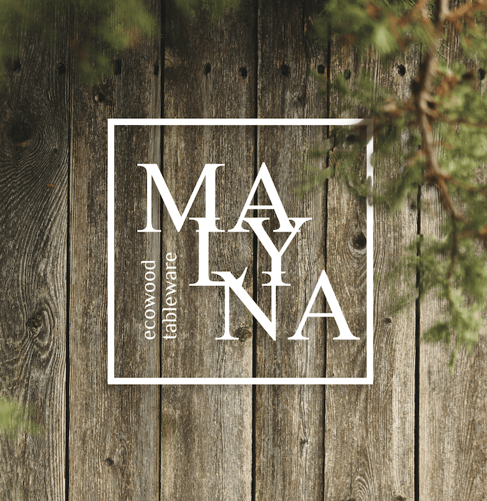 MALYNA ecowood tableware