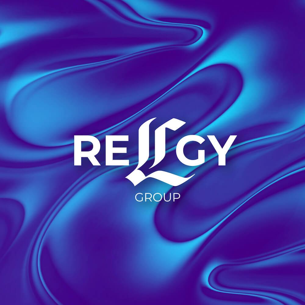 RELGY logo and website development